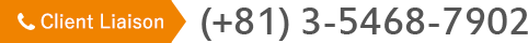 Client Liaison TEL:(+81) 3-5468-7902
